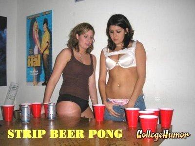 Strip Beer Pong