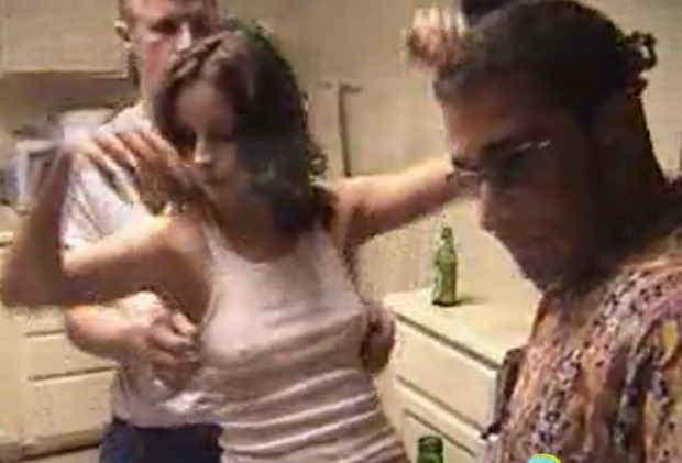 college girl gets drunk and fucks the frat house